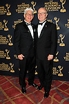 LOS ANGELES - APR 24: Bob Mauro, Charles L Dages at The 42nd Daytime Creative Arts Emmy Awards Gala at the Universal Hilton Hotel on April 24, 2015 in Los Angeles, California