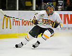 14 November 2008: University of Vermont Catamount forward Chris Atkinson, a Sophomore from Sparta, NJ, in action against the Northeastern University Huskies at Gutterson Fieldhouse in Burlington, Vermont. The Catamounts fell to the Huskies 5-3...Mandatory Photo Credit: Ed Wolfstein Photo