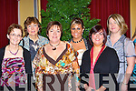 Fexco, Killorglin staff l-r: Geraldine Galvin, Betty Hoare, Kathleen Foley, Linda Touhy, Edel Murphy and Marie Thomas having fun at their Christmas party in the Dromhall hotel, Killarney on Friday night   Copyright Kerry's Eye 2008
