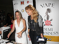 Christy Oldham, Kristina Wayborn<br /> at the 'DemiGoddess Vape' Celebrity Lounge hosted by PhotoMundo Publishing, Westin Los Angeles Airport Hotel, Los Angeles, CA 07-09-16