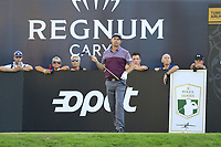 Padraig Harrington (IRL) tees off the 18th tee during Friday's Round 2 of the 2018 Turkish Airlines Open hosted by Regnum Carya Golf &amp; Spa Resort, Antalya, Turkey. 2nd November 2018.<br /> Picture: Eoin Clarke | Golffile<br /> <br /> <br /> All photos usage must carry mandatory copyright credit (&copy; Golffile | Eoin Clarke)