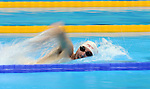 Rio de Janeiro-6/9/2016-Canadian swimmer  Alex Elliot practices at the Olympic Aquatics Stadium prior to the Paralympic Games in Rio. Photo Scott Grant/Canadian Paralympic Committee