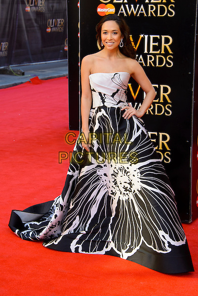 LONDON, ENGLAND - APRIL 13: Myleene Klass attends the Olivier Awards 2014 at the Royal Opera House on April 13, 2014 in London, England. <br /> CAP/CJ<br /> &copy;Chris Joseph/Capital Pictures