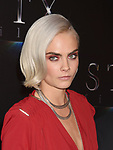 LAS VEGAS, NV - MARCH 28: Actress Cara Delevingne at CinemaCon 2017 The State of the Industry: Past, Present and Future and STXfilms Presentation at The Colosseum at Caesars Palace during CinemaCon, the official convention of the National Association of Theatre Owners, on March 28, 2017 in Las Vegas, Nevada.