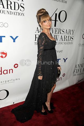 Nicole Richie at the 40th annual Fifi awards at Alice Tully Hall, Lincoln Center on May 21, 2012 in New York City.. Credit: Dennis Van Tine/MediaPunch