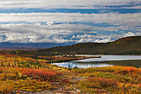 Autumn landscape near Wonder Lake, Denali National Park, Alaska.