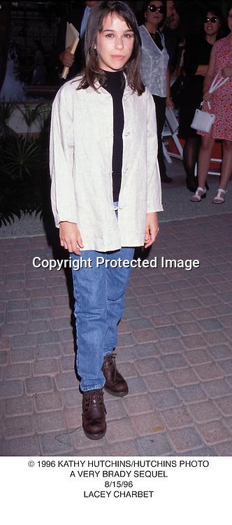 © 1996 KATHY HUTCHINS/HUTCHINS PHOTO.A VERY BRADY SEQUEL.8/15/96.LACEY CHARBET
