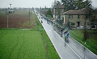 a stretched peloton<br /> <br /> 2014 Milano - San Remo