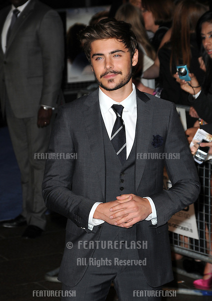 Zac Efron  attends 'The Death And Life Of Charlie St Cloud' UK film premiere at the Empire Leicester Square in London..September 16, 2010  London, UK.Picture: Anne-Marie Michel / Featureflash