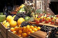 Nederland Amsterdam 2016 02 20. De Huishoudbeurs in de RAI. Vers fruit bij La Place.  Foto Berlinda van Dam / Hollandse Hoogte