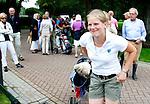 BEETSTERZWAAG - Lianne Jansen wint bij de dames de finale van Dewi Webe.r Het Nederlands Kampioenschap Matchplay 2011 op Lauswolt . Copyright Koen Suyk