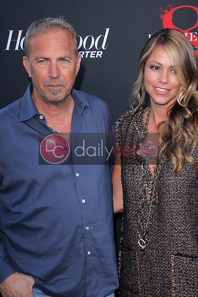 Kevin Costner and Christine Baumgartner<br />