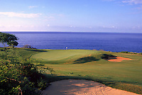 Hole 17 on the Challenge at Manele course, a Jack Nicklaus signature design on Lanai