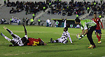 En empate sin goles terminó el juego de la cuarta fecha entre Chicó FC y Uniautónoma FC que se jugó en el estadio La Independencia de Tunja.