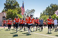 Homecoming - The Occidental Tigers football team plays against Claremont-Mudd-Scripps at Jack Kemp Stadium on Saturday, Oct. 20, 2018.<br />