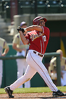 Brandon Garcia of the USC Trojans during game against the  Western Carolina Catamounts at Dedeaux Field in Los Angeles,CA.  Photo by Larry Goren/Four Seam Images