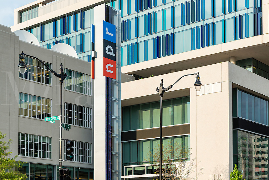 NPR, National Public Radio corporate offices, Washington DC, USA