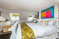 BNPS.co.uk (01202 558833)<br /> Pic: Rightmove/BNPS<br /> <br /> The house has four-bedrooms<br /> <br /> A period property halfway up one of England's steepest hills is not a home for the faint-hearted.<br /> <br /> The buyer of this house - on the market for £975,000 - will need to be an energetic fitness fan to face the tough slog up the aptly named Steep Hill; the fourth steepest street in the country.<br /> <br /> The Grade II Listed townhouse is on Christs Hospital Terrace in Lincoln, a quaint cobbled street that branches off Steep Hill.<br /> <br /> The road has an unusually severe 16.12-degree gradient, making it one of the steepest residential streets in England, according to the Ordnance Survey.