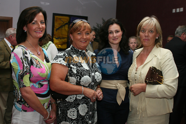 Olive Maxwell, Margaret Morgan, EilÍn Casey and Charlotte Lyons at the launch of the Laytown Races in the Bettystown Court Hotel...Photo NEWSFILE/Jenny Matthews.(Photo credit should read Jenny Matthews/NEWSFILE)....This Picture has been sent you under the condtions enclosed by:.Newsfile Ltd..The Studio,.Millmount Abbey,.Drogheda,.Co Meath..Ireland..Tel: +353(0)41-9871240.Fax: +353(0)41-9871260.GSM: +353(0)86-2500958.email: pictures@newsfile.ie.www.newsfile.ie.FTP: 193.120.102.198.