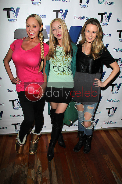 Mary Carey, Lorielle New, Jessica Kinni<br /> on the set of &quot;Politically Naughty with Mary Carey,&quot; TradioV Studios, Los Angeles, CA 02-10-14<br /> David Edwards/Dailyceleb.com 818-249-4998