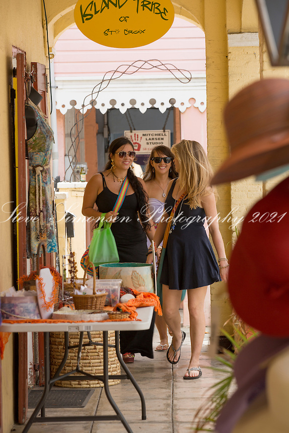 Shopping in Christiansted<br />