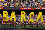 53e Trofeu Joan Gamper.<br /> Presentation 1st team FC Barcelona.