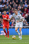 Toni Kroos of Real Madrid in action during La Liga 2017-18 match between Real Madrid and Sevilla FC at Santiago Bernabeu Stadium on 09 December 2017 in Madrid, Spain. Photo by Diego Souto / Power Sport Images