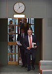Scott Morrison, the Australian Prime Minister, walks into the House of Representatives Chamber at Parliament House, Canberra, Australia, on Wednesday, July 4, 2019. Photographer: Mark Graham/Bloomberg
