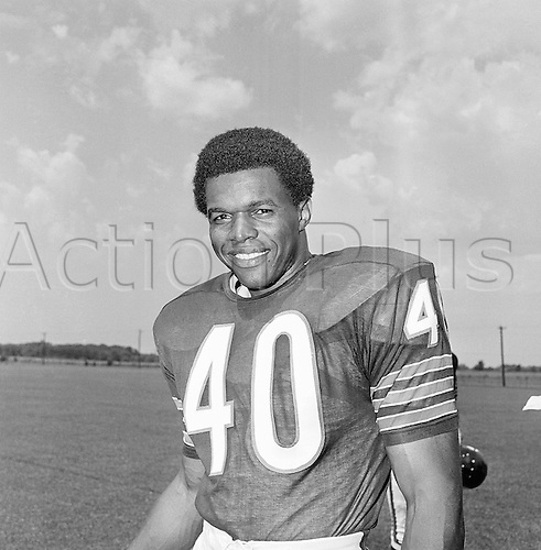 20.08.1970 - USA - Gale Sayers, football player  for the Chicago Bears, August 20, 1970