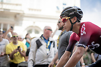 Egan Bernal Gomez (COL/Ineos) at the start in Brussels<br /> <br /> Stage 1: Brussels to Brussels (BEL/192km) 106th Tour de France 2019 (2.UWT)<br /> <br /> ©kramon