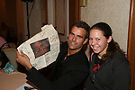 Cameron Mathison signs for Mallory as they attend All My Children Fan Luncheon on September 13, 2009 at the New York Helmsley Hotel, NYC, NY. (Photo by Sue Coflin/Max Photos)