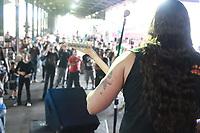 CAMPINAS, SP 04.03.2019 - CARNAVAL- O Carnarock faz a folia alternativa para os roqueiros na Estação Cultura, no centro da cidade de Campinas (SP), nesta segunda-feira (4). A festa é ideal para quem não curte samba ou as tradicionais marchinhas, mas ainda sabe se divertir. A programação reúne música ao vivo e muito rock n'roll, além de concurso de cosplay e competição de rainha e princesa do Carnarock. (Foto: Denny Cesare/Codigo19)