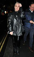Betsy-Blue English at the Perception at W launch party, W Hotel, Wardour Street, London, England, UK, on Tuesday 07 November 2017.<br /> CAP/CAN<br /> &copy;CAN/Capital Pictures