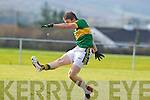 Stephen O'Brien  Kerry in action against  Cork IT in the semi final of the McGrath Cup at John Mitchells Grounds on Sunday.