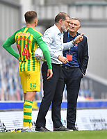 Blackburn Rovers' Manager Tony Mowbray and West Bromwich Albion's Manager Slaven Bilic have words<br /> <br /> Photographer Dave Howarth/CameraSport<br /> <br /> The EFL Sky Bet Championship - Blackburn Rovers v West Bromwich Albion - Saturday 11th July 2020 - Ewood Park - Blackburn <br /> <br /> World Copyright © 2020 CameraSport. All rights reserved. 43 Linden Ave. Countesthorpe. Leicester. England. LE8 5PG - Tel: +44 (0) 116 277 4147 - admin@camerasport.com - www.camerasport.com