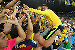 General view, <br /> AUGUST 20, 2016 - Football / Soccer : <br /> Men's Medal Ceremony <br /> at Maracana <br /> during the Rio 2016 Olympic Games in Rio de Janeiro, Brazil. <br /> (Photo by YUTAKA/AFLO SPORT)