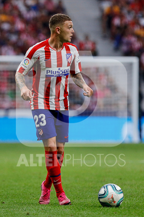 Kieran Trippier of Atletico de Madrid in action during La Liga match between Atletico de Madrid and SD Eibar at Wanda Metropolitano Stadium in Madrid, Spain.September 01, 2019. (ALTERPHOTOS/A. Perez Meca)