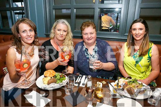 Enjoying the Ashe Hotel Gin Festival on Friday were Sandra Leahy, Tina Diggin, Trina Houlihan and Jane Murphy