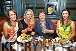 Enjoying the Ashe Hotel Gin Festival on Friday were Sandra Leahy, Tina Diggin, Trina Houlihan and Jane Murphy