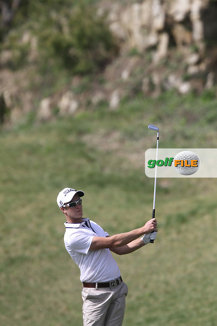 Kieran Pratt (AUS) on Day 2 of the Ballantines Championship 2012 at Blackstone Golf Course, Icheon, Korea...(Photo Jenny Matthews/www.golffile.ie)