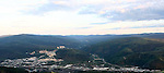 View from Solomon's Dome near Dawson city, The Yukon Territory, Canada