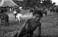 Messico, Chiapas, La Realidad 1996.Comunità indigena Zapatista.EZLN.Mexico, Chiapas, La Realidad.Zapatista indigenous communities