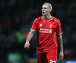 Martin Skrtel of Liverpool - FA Cup Fourth Round replay - Bolton Wanderers vs Liverpool - Macron Stadium  - Bolton - England - 4th February 2015 - Picture Simon Bellis/Sportimage
