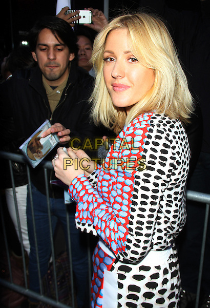 NEW YORK, NY - NOVEMBER 9: Ellie Goulding seen at ABC's Good Morning America in New York City on November 9, 2015. <br /> CAP/MPI/RW<br /> &copy;RW/MPI/Capital Pictures
