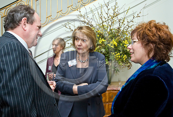 BRUSSELS - BELGIUM - 28 JANUARY 2010 -- West Midlands Higher Education Institutions Alumni event reception at the UK Ambassador's to Belgium, Dr Rachel ARON (Ce) residence. -- PHOTO: Juha ROININEN / EUP-IMAGES