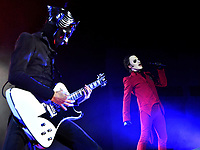 """2019 11 17 Ghost perform """"Ultimate Tour Named Death"""" at the Motorpoint Arena in Cardiff, Wales, UK"""