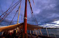 Norwegen, Oslo, Im Hafen vor dem Rathausplatz