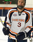 Nick Del Rosso (Salem State - 3) - The visiting Plymouth State University Panthers defeated the Salem State University Vikings 3-2 on Thursday, December 1, 2011, at Rockett Arena in Salem, Massachusetts.