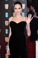 Angelina Jolie<br /> arriving for the BAFTA Film Awards 2018 at the Royal Albert Hall, London<br /> <br /> <br /> ©Ash Knotek  D3381  18/02/2018