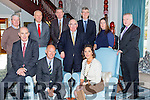 Dominick Chillcott the British Ambassador to Ireland met with the Killarney Chamber of Commerce in the Killarney Avenue Hotel on Monday front row l-r: Terance Casey, Dominick Chilcott, Senator Paul Coughlan, Kay O'Leary Killarney Chamber of Commerce i President. Back row: Conor Hennigan, Liam McCarthy, Micheal O'Donoghue, Patrick O'Donoghue, Elaine Cronin and Pat Dawson